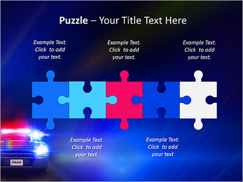 Police Car PowerPoint Template - Slide 21