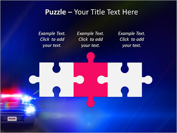 Police Car PowerPoint Template - Slide 22