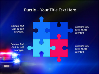 Police Car PowerPoint Template - Slide 23
