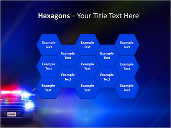 Police Car PowerPoint Template - Slide 24