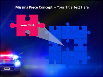 Police Car PowerPoint Template - Slide 25