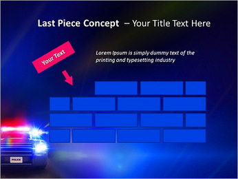 Police Car PowerPoint Template - Slide 26