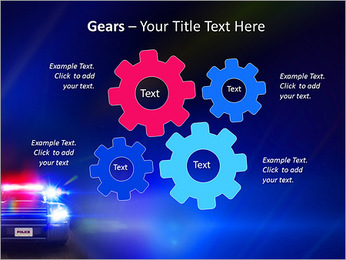 Police Car PowerPoint Template - Slide 27