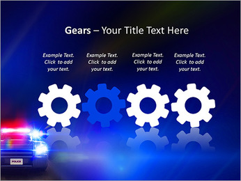 Police Car PowerPoint Template - Slide 28