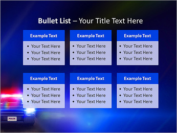 Police Car PowerPoint Template - Slide 36