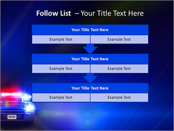 Police Car PowerPoint Template - Slide 40
