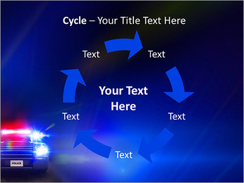 Police Car PowerPoint Template - Slide 42