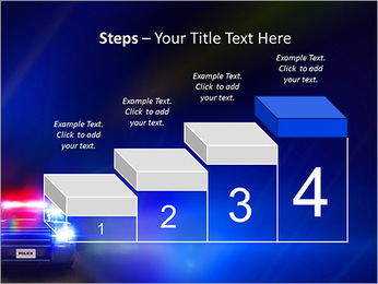 Police Car PowerPoint Template - Slide 44
