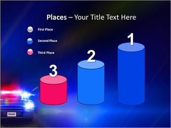 Police Car PowerPoint Template - Slide 45