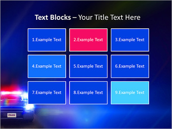 Police Car PowerPoint Template - Slide 48