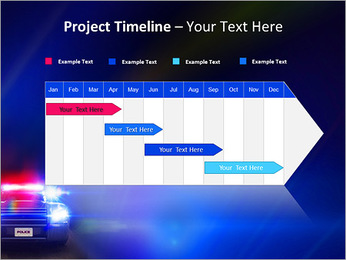 Police Car PowerPoint Template - Slide 5