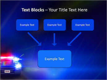 Police Car PowerPoint Template - Slide 50