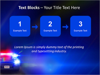 Police Car PowerPoint Template - Slide 51