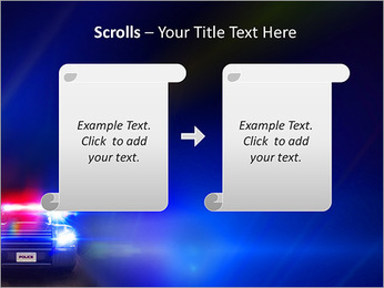 Police Car PowerPoint Template - Slide 54