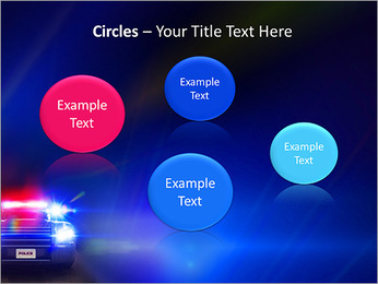 Police Car PowerPoint Template - Slide 57