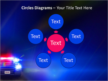 Police Car PowerPoint Template - Slide 58