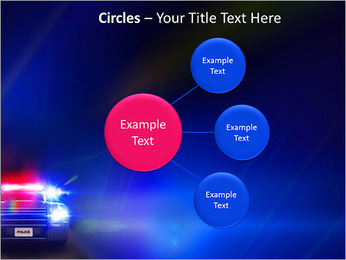 Police Car PowerPoint Template - Slide 59