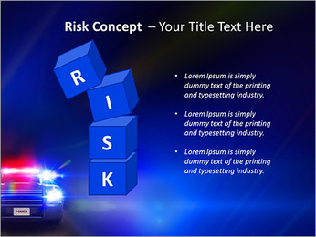 Police Car PowerPoint Template - Slide 61