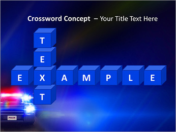 Police Car PowerPoint Template - Slide 62
