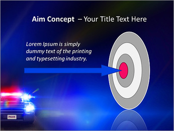 Police Car PowerPoint Template - Slide 63