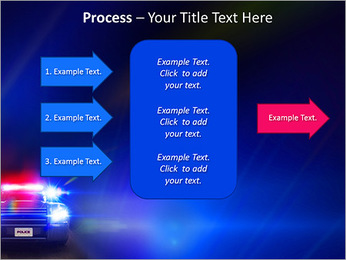 Police Car PowerPoint Template - Slide 65