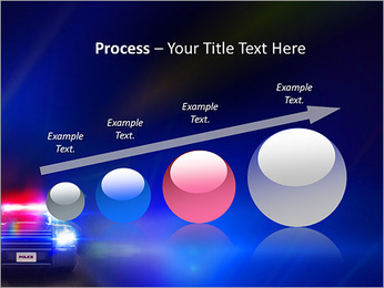 Police Car PowerPoint Template - Slide 67
