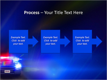 Police Car PowerPoint Template - Slide 68