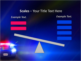 Police Car PowerPoint Template - Slide 69