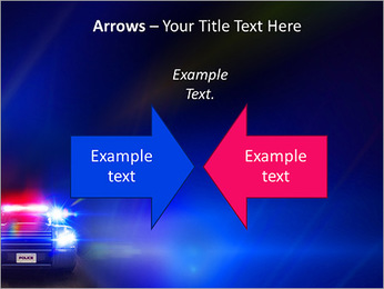Police Car PowerPoint Template - Slide 70