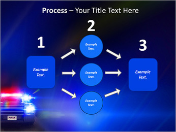 Police Car PowerPoint Template - Slide 72