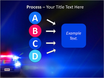 Police Car PowerPoint Template - Slide 74