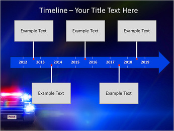 Police Car PowerPoint Template - Slide 8