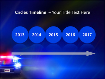 Police Car PowerPoint Template - Slide 9