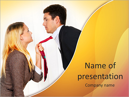 Colleagues' Conflict PowerPoint Templates