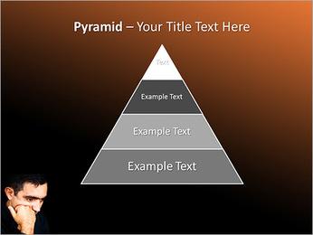 Depressed Man PowerPoint Templates - Slide 10