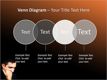 Depressed Man PowerPoint Templates - Slide 12