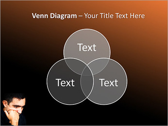 Depressed Man PowerPoint Templates - Slide 13