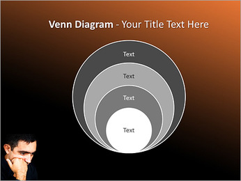 Depressed Man PowerPoint Templates - Slide 14