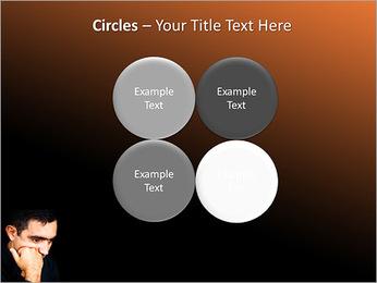 Depressed Man PowerPoint Templates - Slide 18