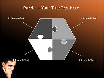 Depressed Man PowerPoint Templates - Slide 20