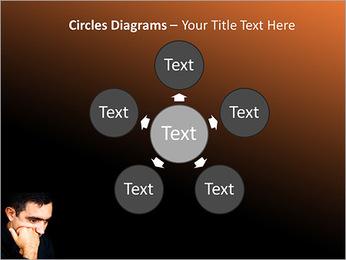 Depressed Man PowerPoint Templates - Slide 58