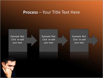 Depressed Man PowerPoint Templates - Slide 68