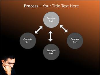 Depressed Man PowerPoint Templates - Slide 71