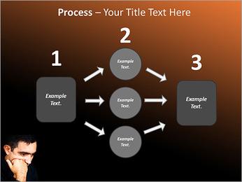 Depressed Man PowerPoint Templates - Slide 72