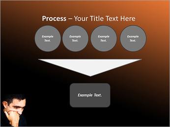 Depressed Man PowerPoint Templates - Slide 73