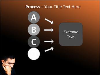 Depressed Man PowerPoint Templates - Slide 74