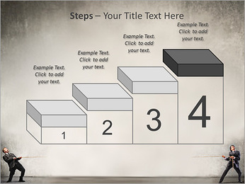 Pull Rope PowerPoint Template - Slide 44