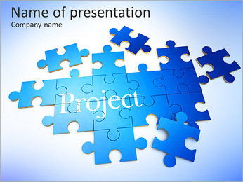 Project Management PowerPoint Template - Slide 1