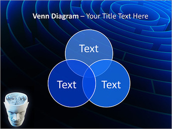Brain Labyrinth PowerPoint Templates - Slide 13