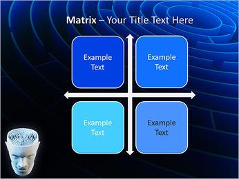 Brain Labyrinth PowerPoint Templates - Slide 17